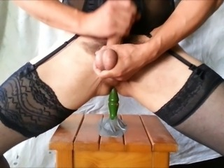 trv16 dildo play with cum