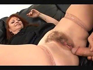 Mature redhead fuck and facial