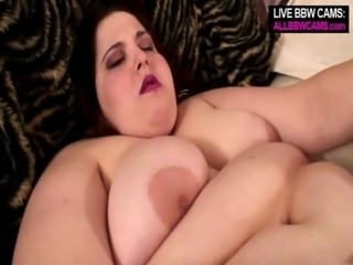 Chrissy BBW does the sexy job free