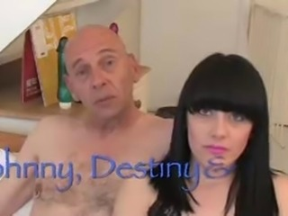 Destiny Bristol, Angel Squirts & Johnny Rockard