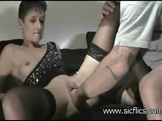Horny housewife needs a huge fisting in her loose pussy to reach an intense...