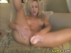 Moaner Blond Babe Orgasm HD