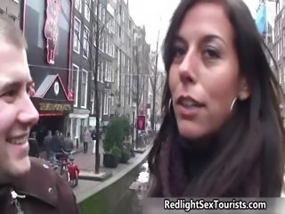 Sexy Dutch tourguide guiding part5