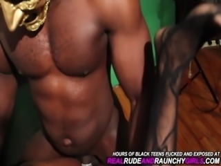 REAL AMATEUR BLACK TEEN GANGBAN ... free