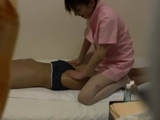 JAPANESE  MASSAGE--HIDDEN CAM
