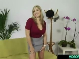 Beautifull natural blonde in a sex scene