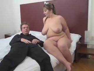Room Service For Elder Cock