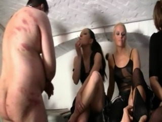 German mistress pees in her sla ... free