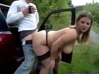 Sexy German Big Tits Street Whore.  german ggg spritzen goo girls