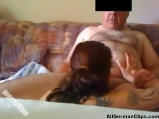 German Teen Seduces Grandfather german ggg spritzen goo girls