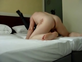 Slut wife fucks stranger in motel infront of hubby cuckold