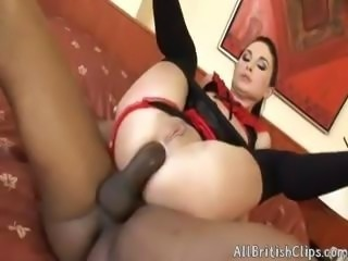 European Bitch Gets Her Ass Destroyed By Black(atm,prolapse)  british euro...
