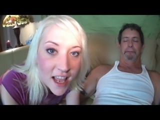 Blonde dominates big DICK