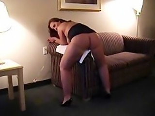 Plump MILF grinds hard to orgasm