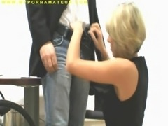Hot German Amateur girl fucks in stockings from behind SexyAngel2007