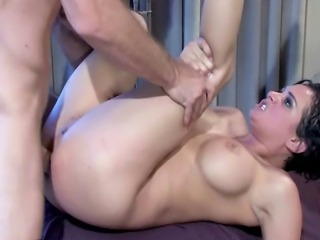Amateur having vaginal and anal sex
