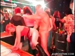 Whores taking cocks at orgy