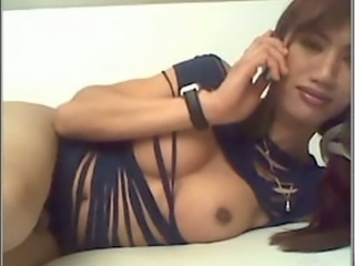 French ladyboy has a great cock