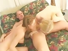 Mark Davis And His Two Horny Sluts Fuck And Get Wet