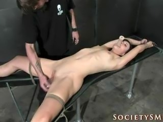 Final part of a bdsm scene with Dylan Ryan.