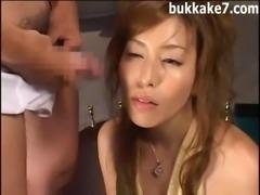 Messy Japanese Bukkake 40012a