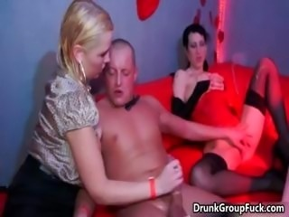 Hot and busty blond girl is riding part6