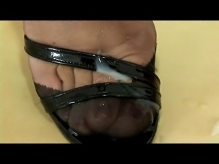 Sensual Nylon Shoejon