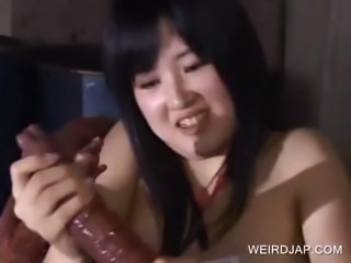 Asian cutie getting wrapped in tentacles