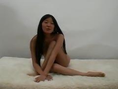 Cute French Asian Teen Girl