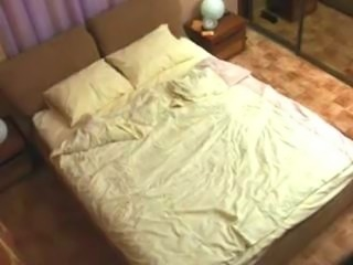 Young couple has sex at a hotel room and get filmed by a spy cam