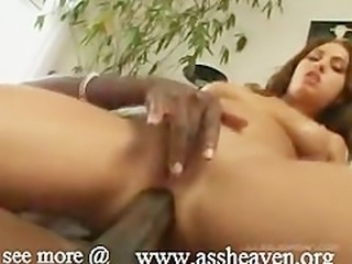 Melanie petit white girl versus a monster black cock