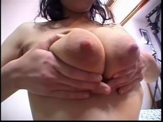 Four Japanese huge big milk nipples