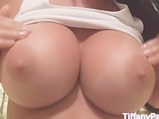 Tiffany self masturbate and reach orgasm