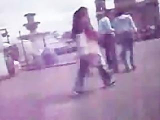 groped in public