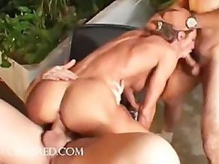 Naomi Russel Dark hair Fuck Robot Tested In Threesome