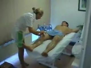 Blonde massage free
