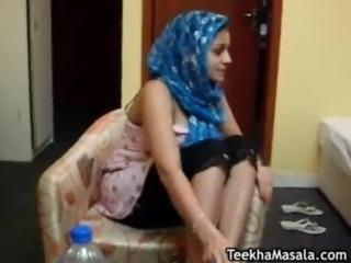 Desi ladiki stripping and tit fucked free