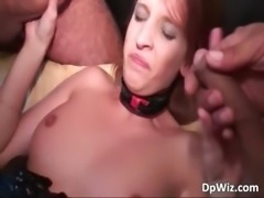 Slutty MILF gets double fucked after part5