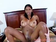 Astounding Body Gets Fucked Blowjob Brunette Exotic Huge tits