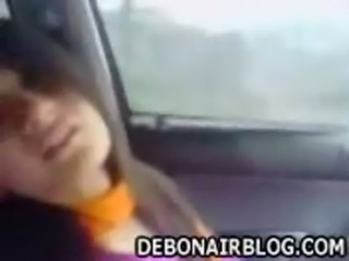 very beautiful pakistani punjabi girl kisses and enjoys in car free