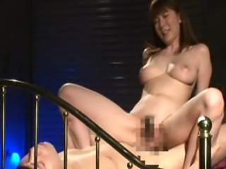 Yuma Asami in a 360 degree fuck. No fake room, just watching the fun from all...
