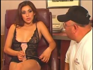 Smoking hot spanish chick banged hard