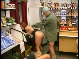 Cashier and Customer Fucked in Store free
