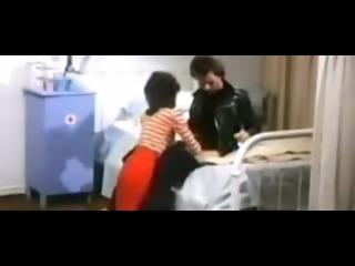 Classic sex scene of horny nurse fucking a patient