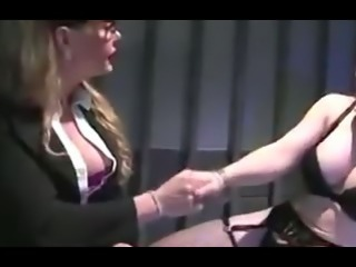 Danielle Fox and Vicki Richter push the limites