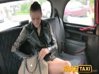 FakeTaxi No money, so she pays with her pussy free