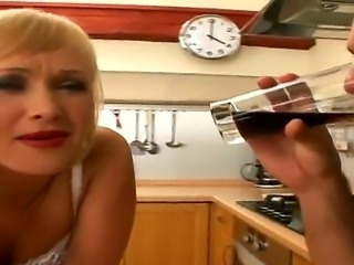 Awesome and gorgeous blonde named Sofia and her new fucker Renato