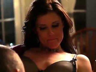 Busty hot milf India Summer gets her wet horny muff licked as she moans till...