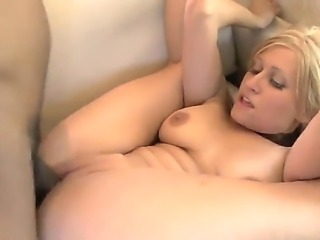 Amateur busty curve Sadie Sable play dirty games with the strong black guy...
