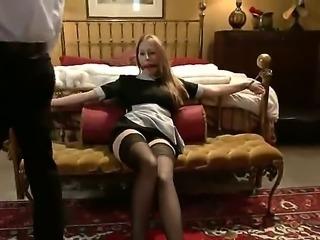 Hardcore action with the seductive pornstars Lizzy London and Francesca Le,...